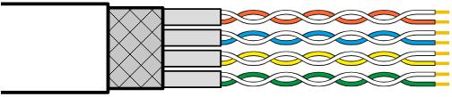 双绞线电缆